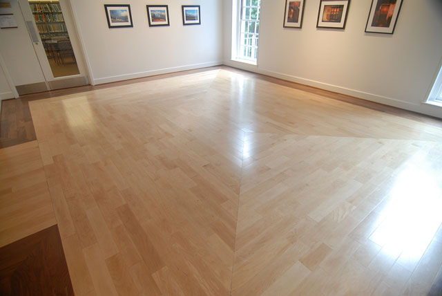 Commercial Floor Entry Room - Commercial Floors - Carolina Wood Floors