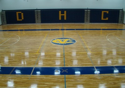 Sports floors carolina wood floors for Hardwood floors greenville nc